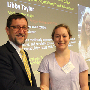 Libby Taylor with Dean Goldbart (Photo by Renay San Miguel)