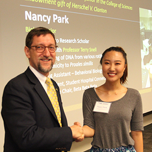 Nancy Park with Dean Goldbart (Photo by Renay San Miguel)