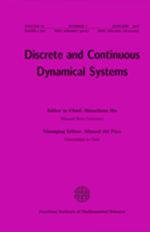 Discrete and Continuous Dynamical Systems-A 38-12