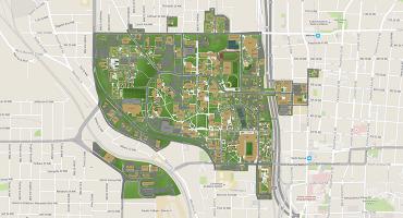Map of School of Mathematics | Georgia Institute of Technology | Atlanta, GA