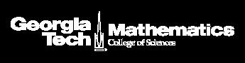 School of Mathematics | Georgia Institute of Technology | Atlanta, GA