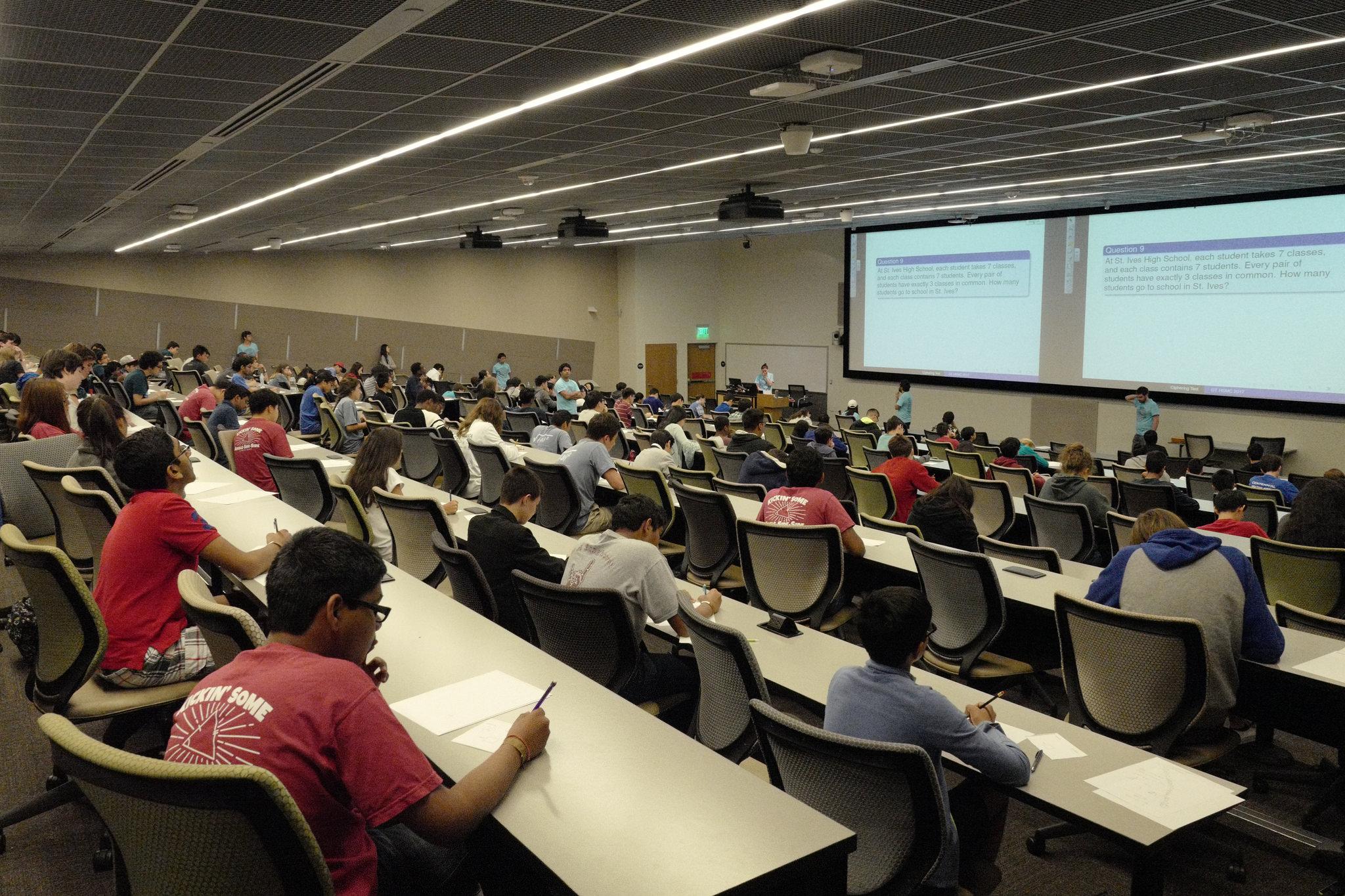 Georgia Tech Hosts Annual High School Math Competition   School of